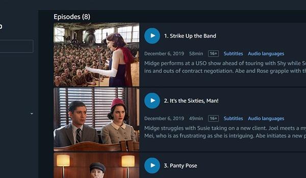 Amazon Prime Video nu als Windows 10-app met download-optie