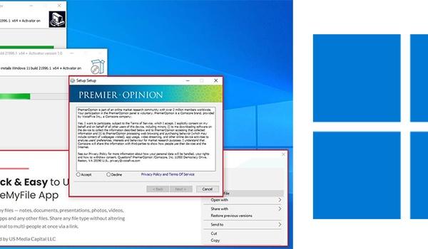 Pas op voor onofficiële Windows 11-downloads vol malware