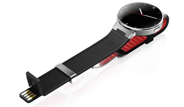 Alcatel OneTouch-smartwatch heeft usb-oplader in bandje