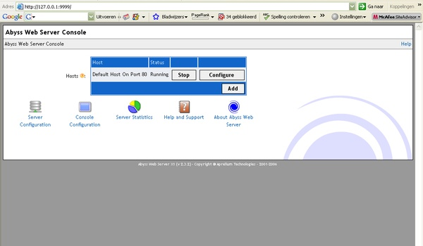 Abyss Web Server X1