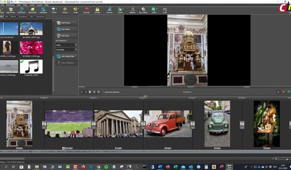 PhotoStage: geluid, overgangen en meer