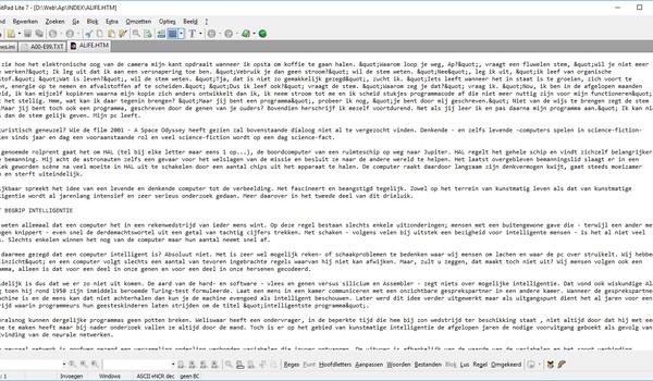 EditPad Lite - Tekstverwerker met tabbladen