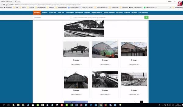 Oude foto's van Nederland met Serc