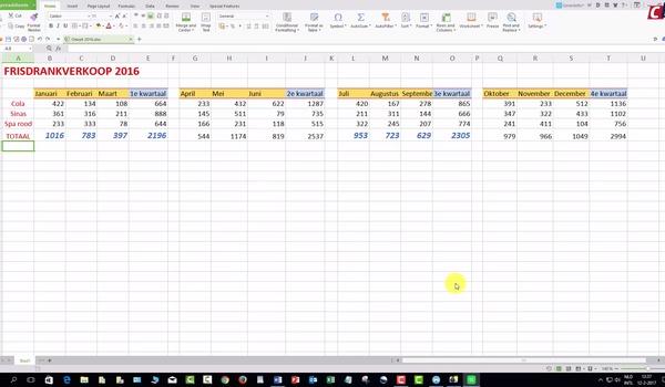 Cijferen met Spreadsheets - WPS Office (2)