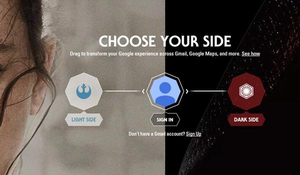 Google-apps met een Star Wars-tintje
