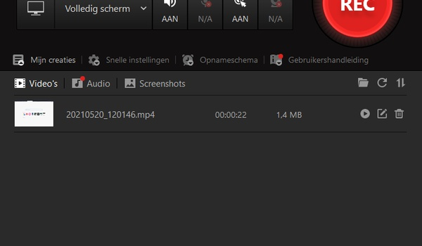 iFun Screen Recorder Free - Schermvideo's maken