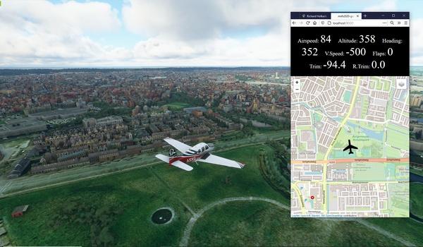 VFRMap - Vind de weg in de lucht