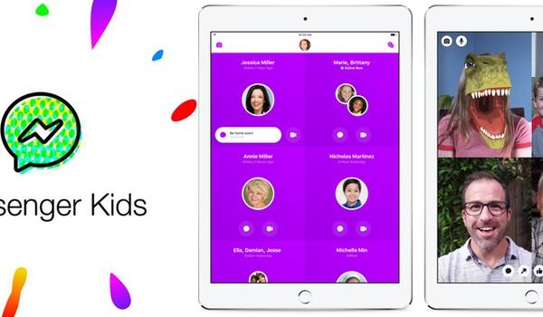 Facebook lanceert Messenger voor jonge kinderen