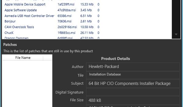 PatchCleaner -  Ruim overbodige installatiebestanden op