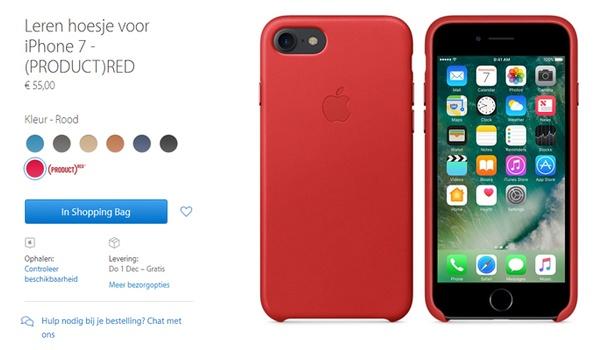 Koop Apple-producten voor het goede doel met RED-actie