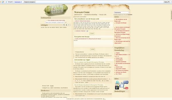 DCode - Alles voor cryptografen en puzzelaars.