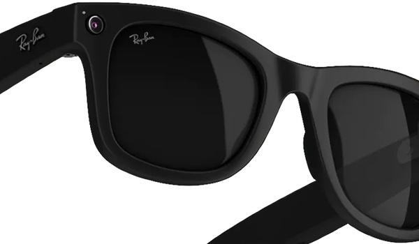 Slimme bril van Facebook en Ray-Ban filmt wat je voor je ziet