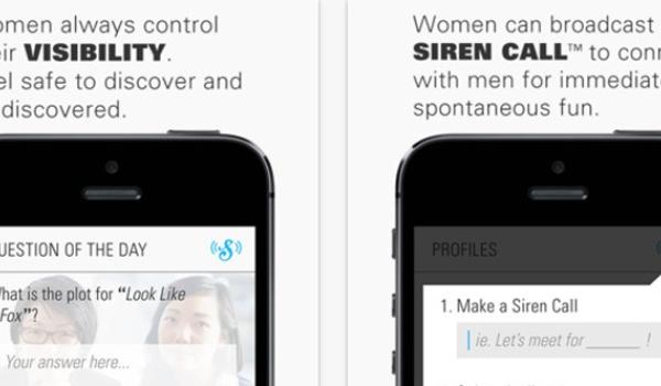 Vrouwvriendelijke dating-app Siren stelt privacy voorop