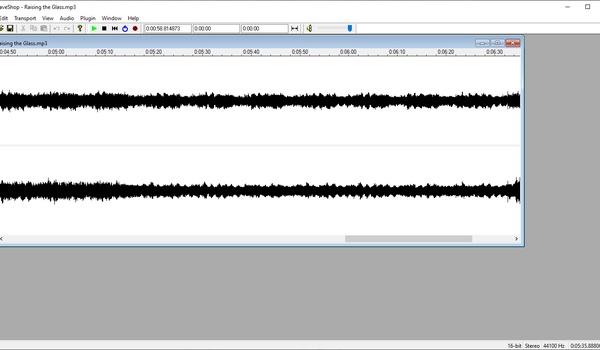 WaveShop - Compacte audiobewerker