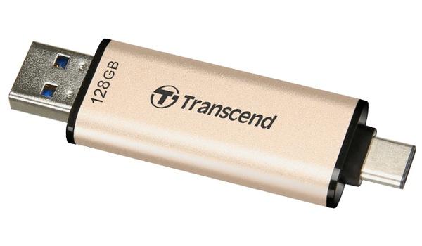 Back-ups via usb-a en usb-c met JetFlash 930C-stick