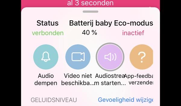 Luna Babyfoon - Gebruik uw oude iPhone als babyfoon