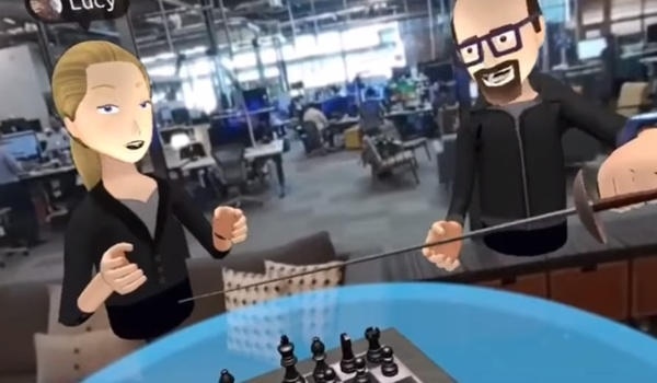Zo ziet Facebook er uit in virtual reality