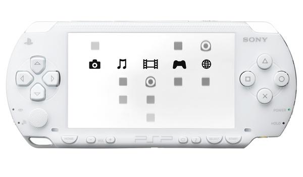 PSP van Sony volgende week ook in het wit