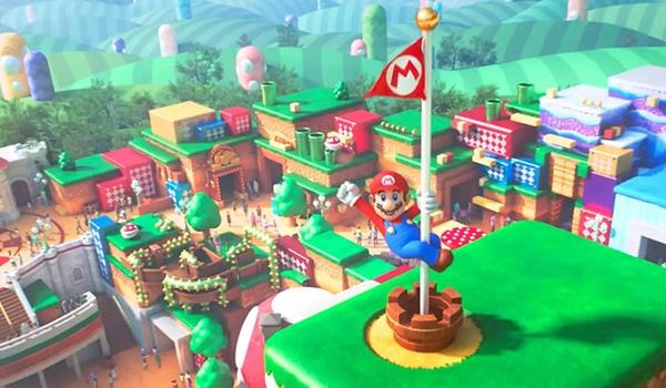 Super Mario-pretpark volgend jaar open voor publiek