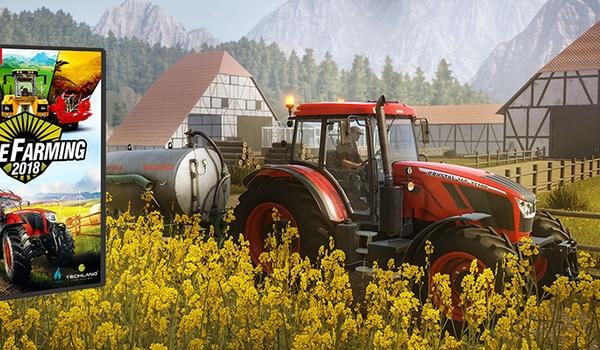 Win de boerderij-simulatiegame PureFarming 2018