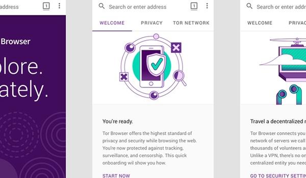 Tor-browser nu ook te downloaden voor Android