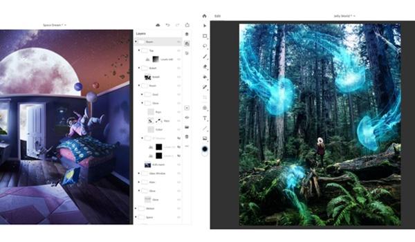 Adobe brengt Photoshop CC in 2019 uit voor iPad