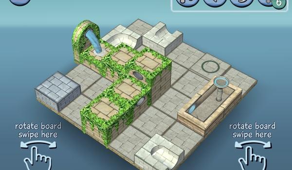 Flow Water Fountain 3D - Spelen met water