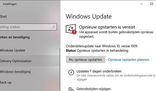 Windows 10 november 2019 update installeren doe je zo