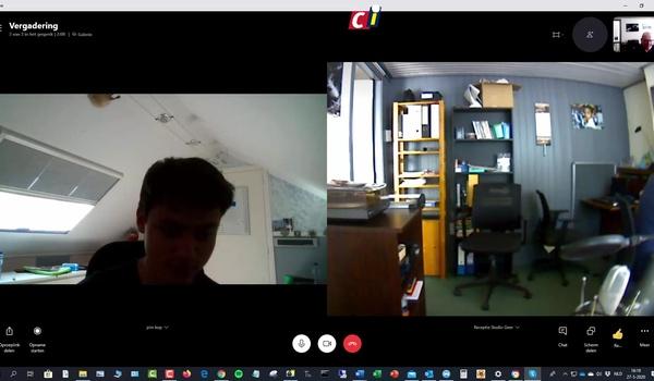 Skype: online vergaderen