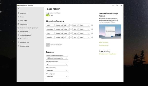 PowerToys: Image Resizer