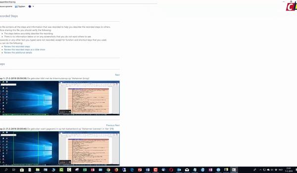 Windows 10: Stappenbeschrijving