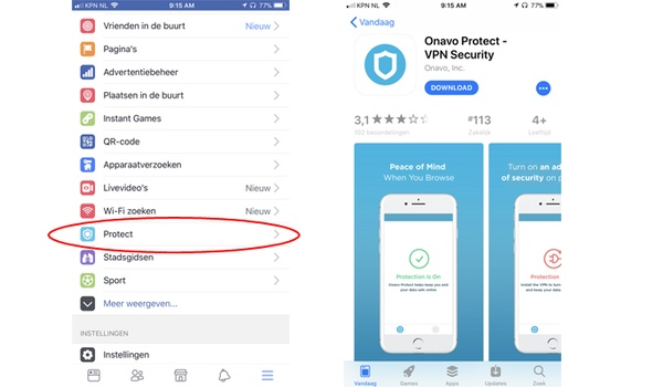 Facebook-vpn verzamelt gebruiksgegevens voor eigenbelang