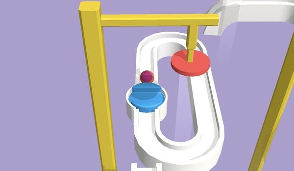 Ball Slider 3D - Breng de bal naar de finish