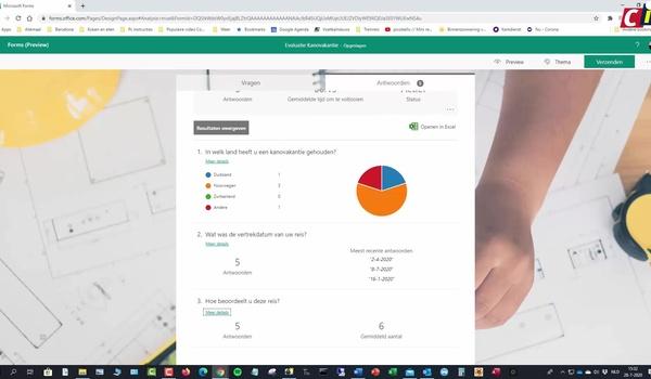 Microsoft Forms: formulier verwerken