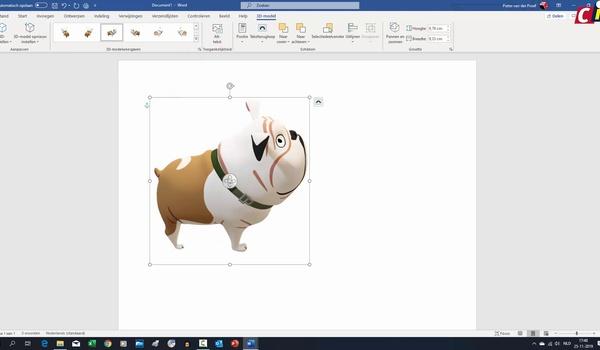 Office 365: 3D-modellen