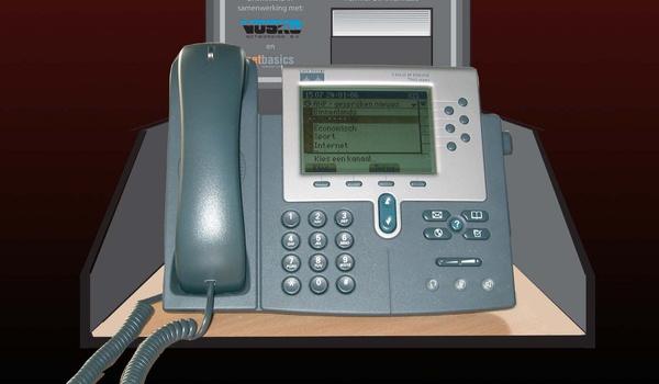 Laatste nieuws te horen én zien op vaste telefoon
