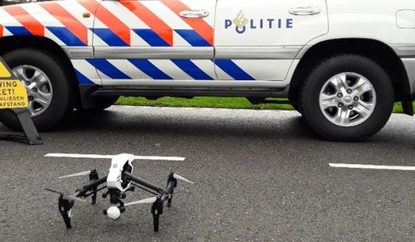 Politie zet telkens vaker drones in