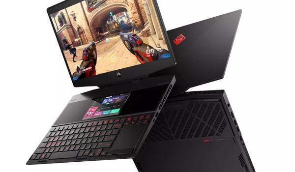 HP Omen X 2S 15-laptop heeft extra scherm