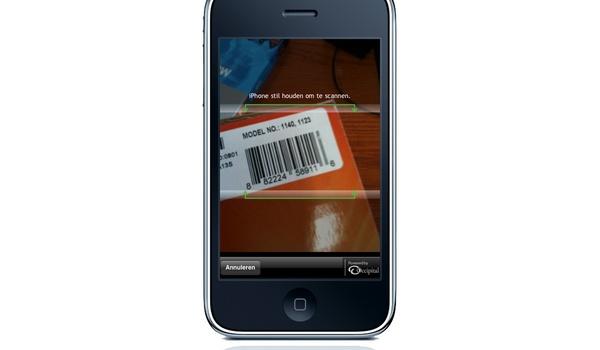 Geld besparen met barcode-scanner App