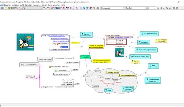 Freeplane - Complex mindmappen