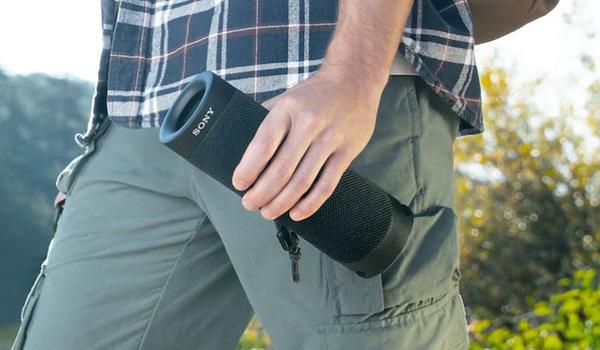 Sony SRS-XB23-speaker is makkelijk mee te nemen