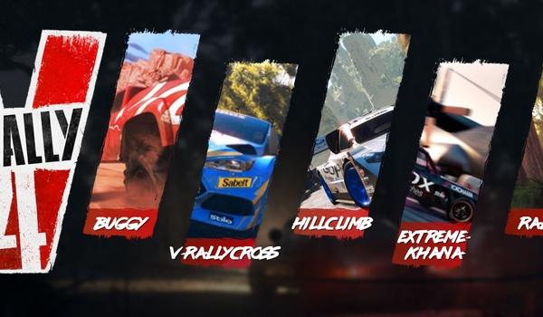Win de racegame V-Rally 4