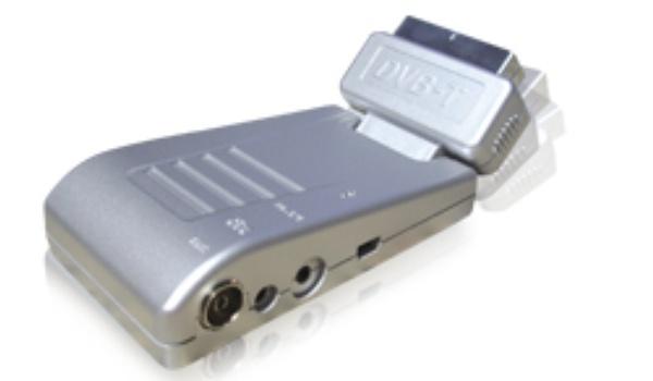 DVB-T ontvanger met radiografische afstandsbediening
