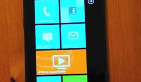 SMS-lek Windows Phone 7 bevestigd door Microsoft