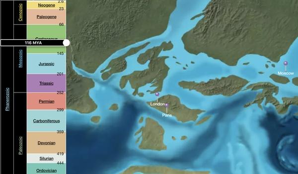 EarthViewer - De aarde vroeger, nu en in de toekomst