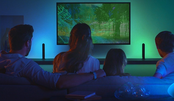 Synchroniseer Hue-lampen met tv met Play HDMI Sync Box