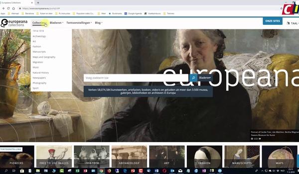 Europeana Collections ontdekken