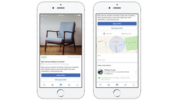 Facebook lanceert marktplaats voor tweedehands verkoop