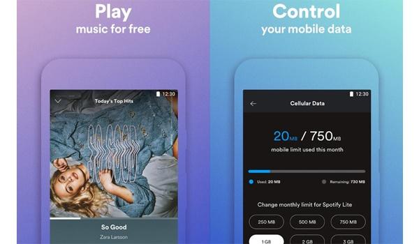 Spotify Lite-app laat je een datalimiet instellen