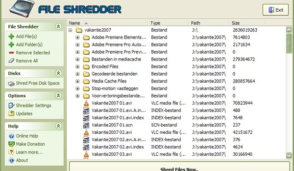 Free File Shredder